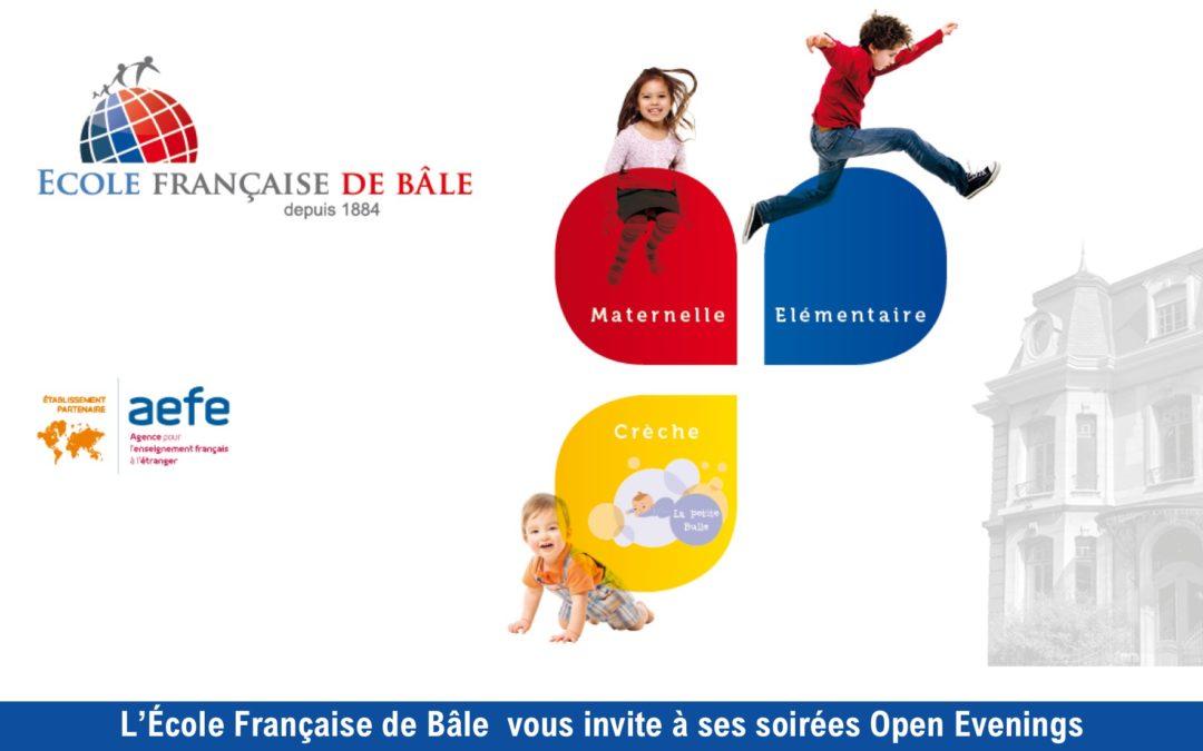 «Open evenings» à l'EFDB