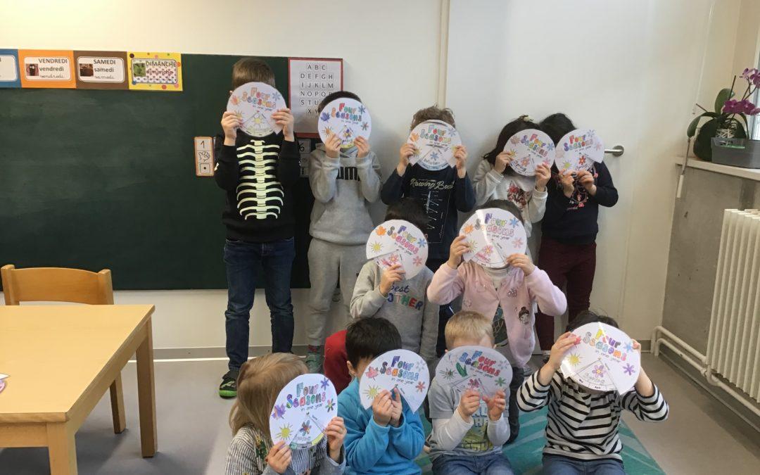 Activité périscolaire maternelle Anglais Moyens/Grands – les lundis de 15h30 à 17h :