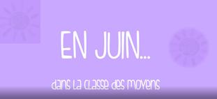 La classe de moyenne section en juin